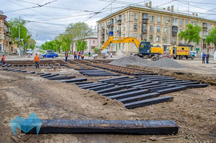В Магнитогорске обновят тысячу триста метров трамвайных путей
