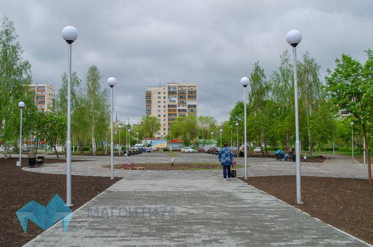 В Магнитогорске изменился сквер Ручьева