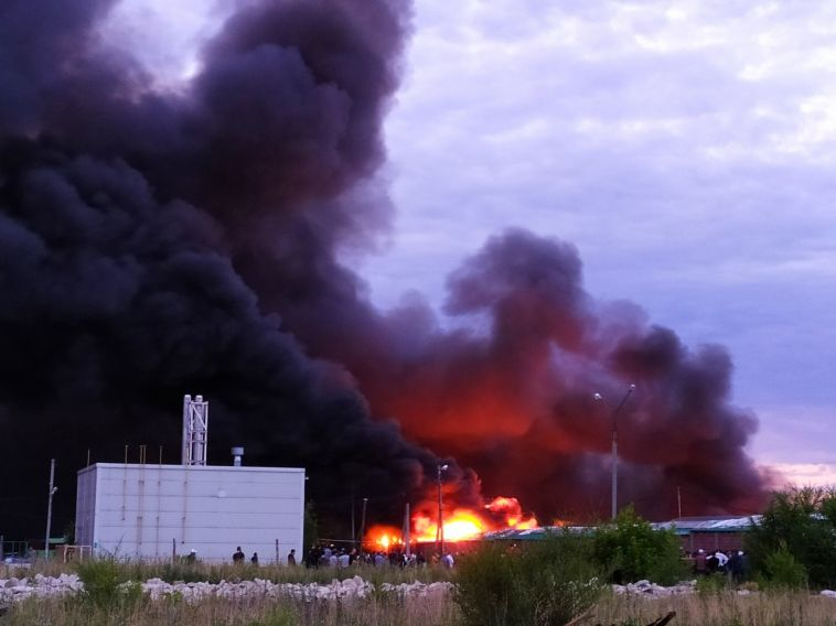 Директор ЦГЯ прокомментировал ночной пожар