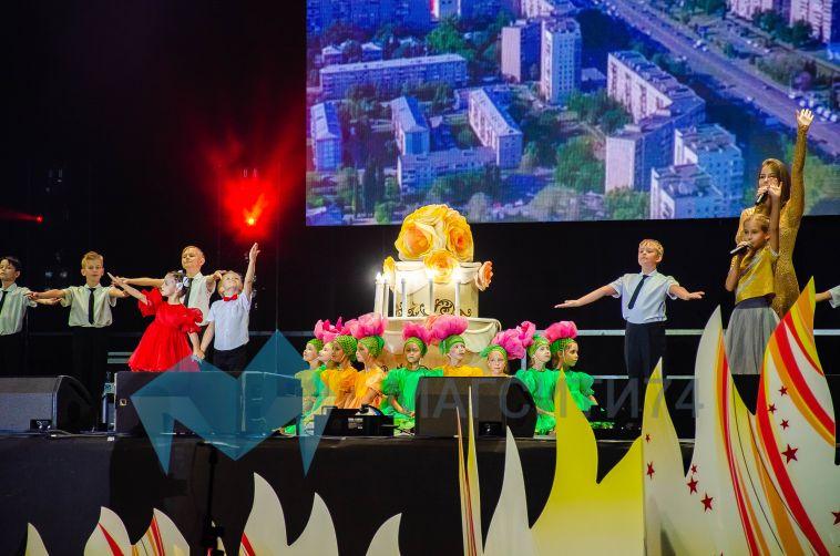 В арене «Металлург» состоялась генеральная репетиция праздника