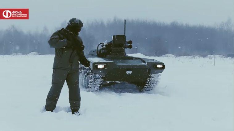 В Магнитогорске продемонстрируют навыки боевого робота