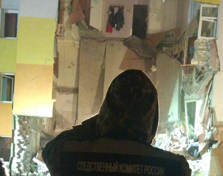 В Белгородской области обрушился жилой дом из-за взрыва газа