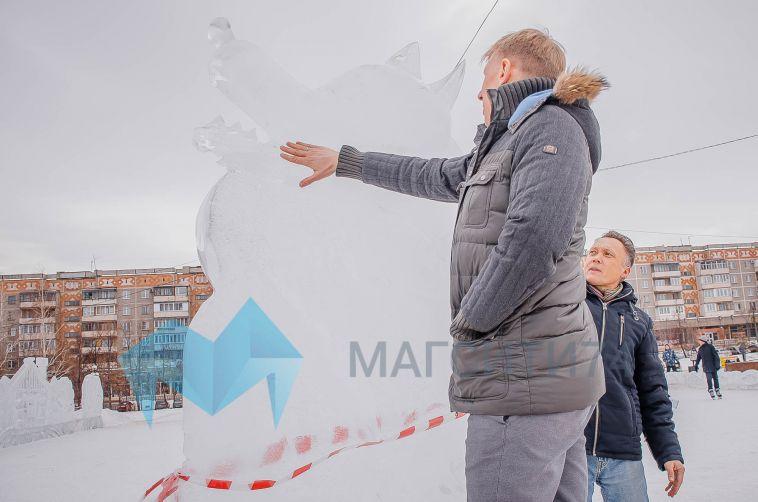 Перед выходными вновь открыли ледовые городки