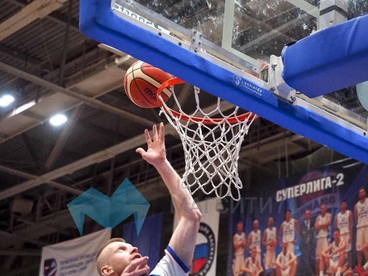 Магнитогорские баскетболисты дважды проиграли в Тамбове