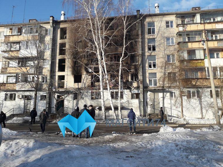 Силовики задержали магнитогорца, который принёс газовый баллон в квартиру на Доменщиков