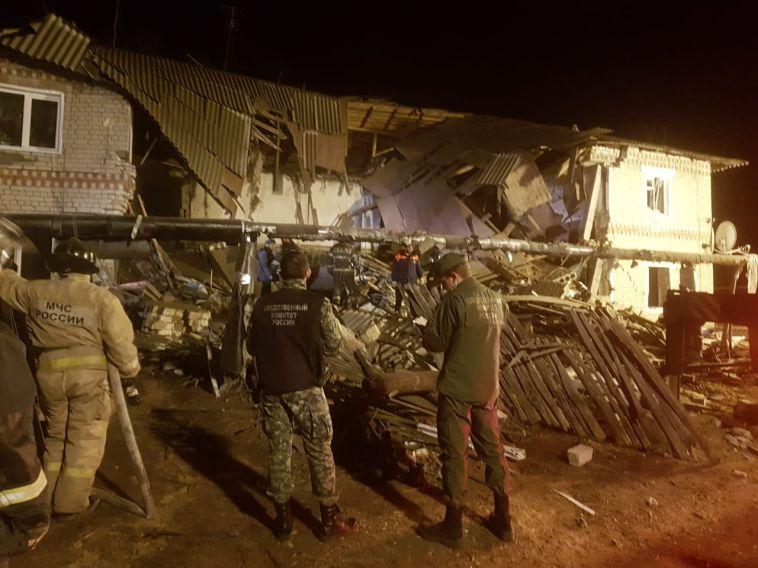 Взрыв бытового газа разрушил многоквартирный дом в Нижегородской области