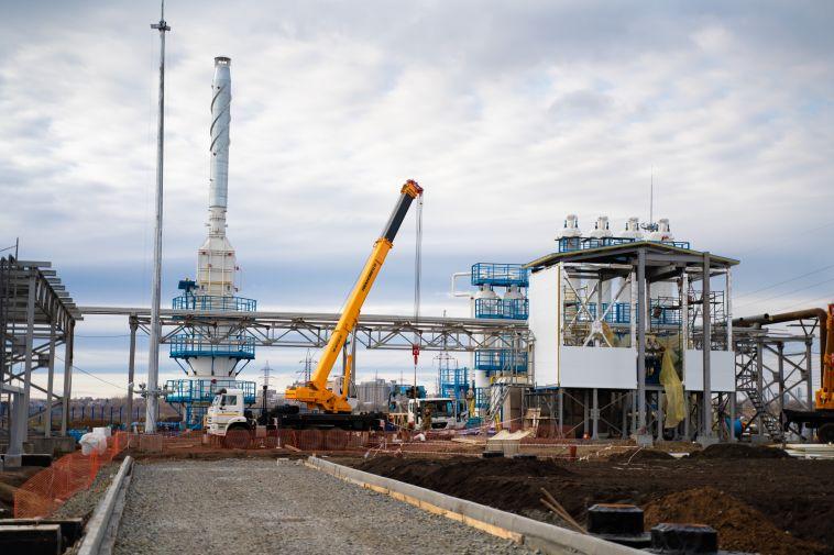 В Магнитогорске готовится к открытию завод по производству сжиженного газа