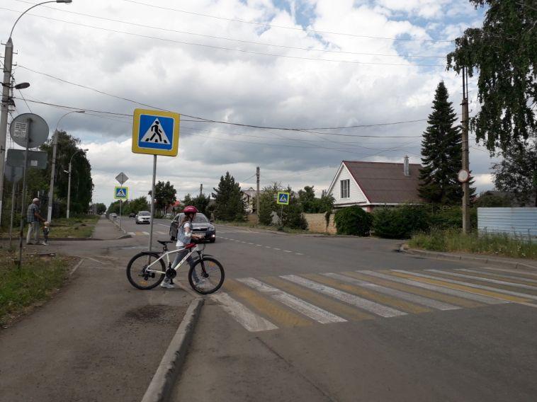 С начала года в городе за нарушение ПДД оштрафовали 49 велосипедистов