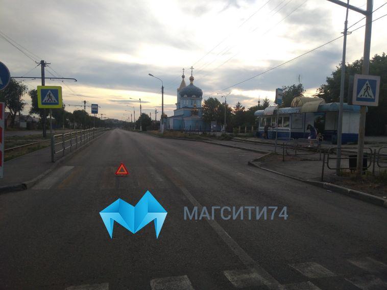 Водитель наехал на9-летнюю девочку на пешеходном переходе в Магнитогорске