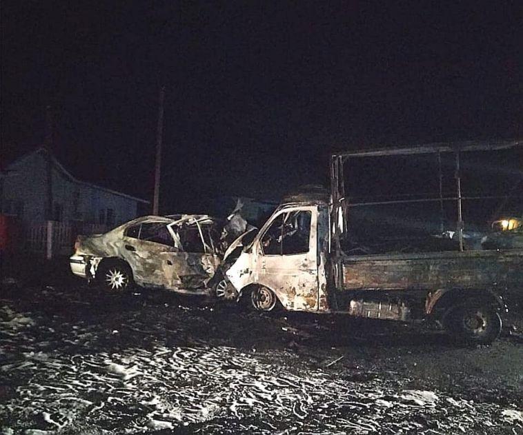 В Башкирии два человека погибли в огненном ДТП
