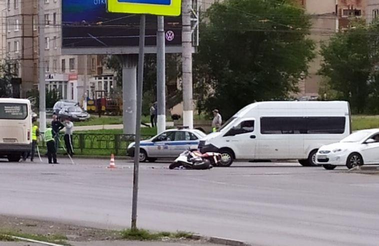 В ГИБДД рассказали подробности двух ДТП с участием мотоциклиста