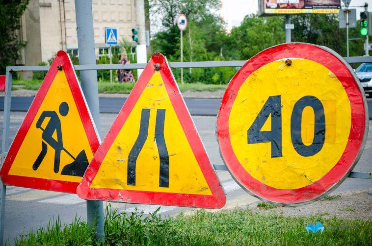 Из-за ремонта перекрыли дороги в трёх районах города