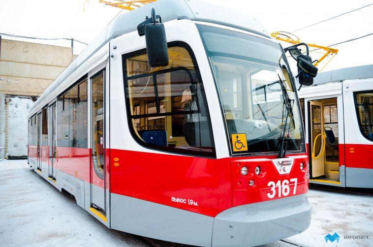 В магнитогорских трамваях включили отопление