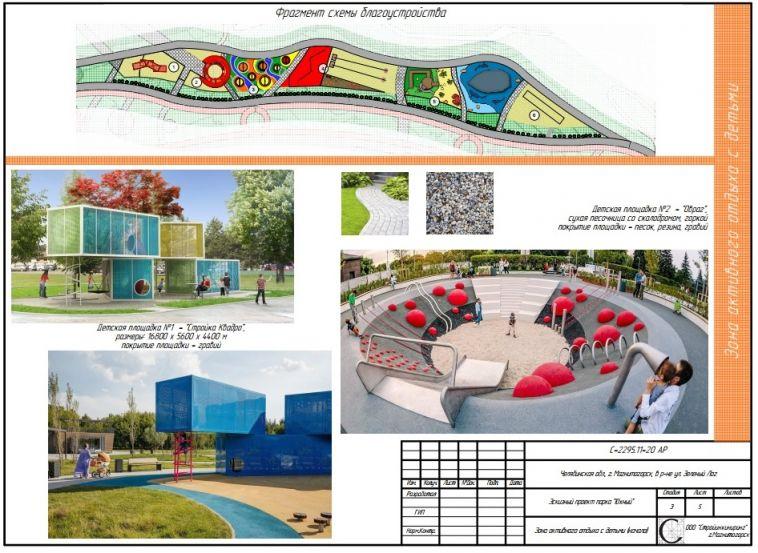 Стало известно, кто займётся строительством парка вюжной части Магнитогорска