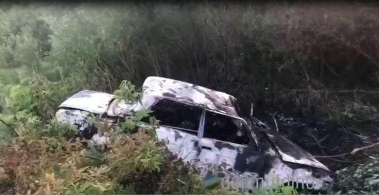 Житель Башкирии заживо сгорел в своём автомобиле