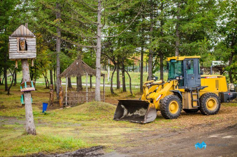 Более 20 млн город потратит на ремонтные работы в Экологическом парке