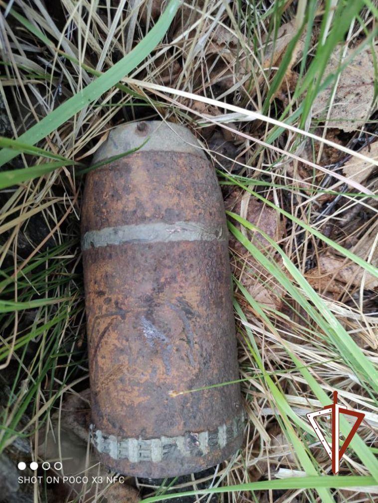 В Челябинской области нашли боевой снаряд 19 века