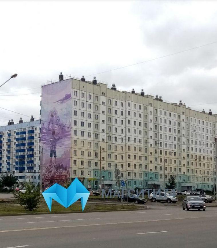 Новое граффити украсит фасад одного из домов в Магнитогорске