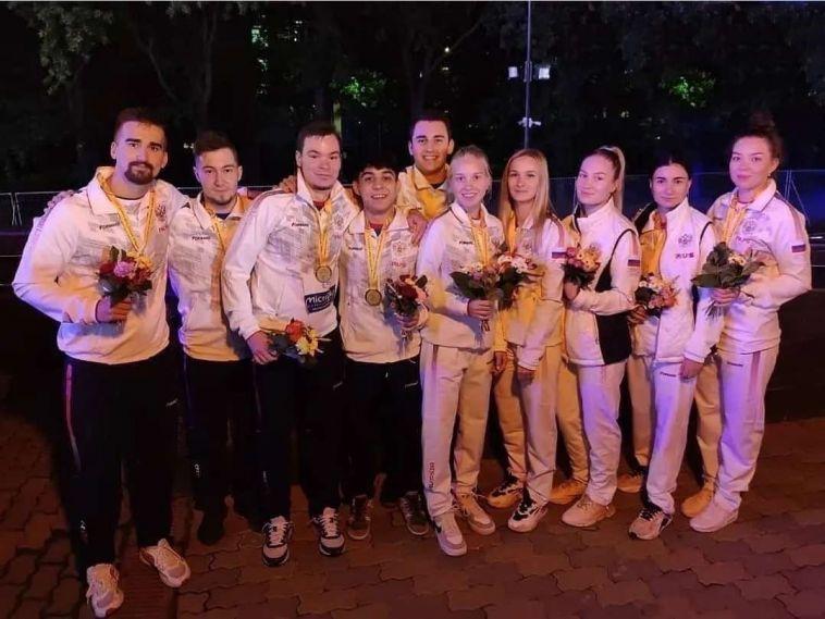 Теннисисты из МГТУ принесли семь медалей сборной России в первых в истории играх стран СНГ